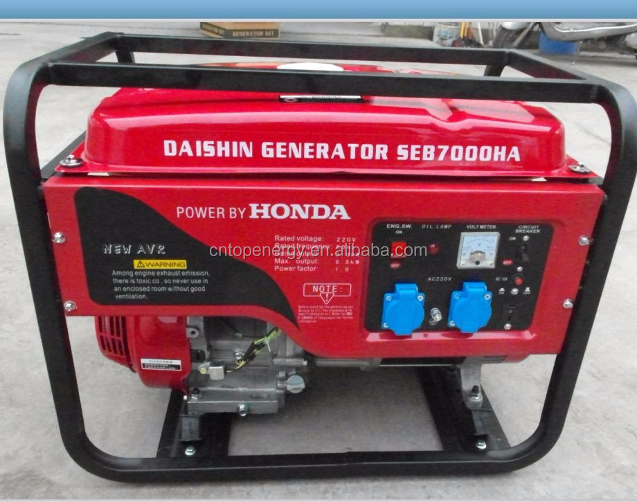 generadores electricos diesel 5KVA 220V, 60Hz, single phase generator 5KW