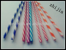 2015 striped acrylic straws for party
