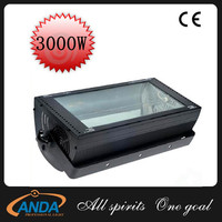 Guangzhou Manufacturer ATOMIC 3000W DMX Strobe Light/3000W Strobe Strong Digital Strobe Light