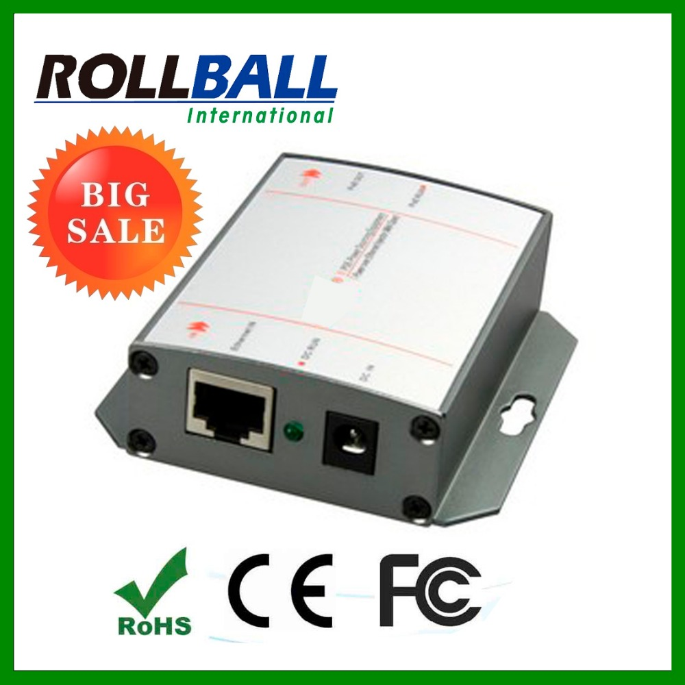 Factory price good quality poe splitter 4 output ports 12V 10/100M 15.4w total consumption 60w