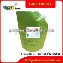Compatible photocopier toner powder for toshiba BD-1650 1710 2050 2310 2500 2540