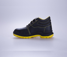 Weznou Labour Safety Shoes With Steel Plate,Comfortable Work Shoes Coal Mining Boots