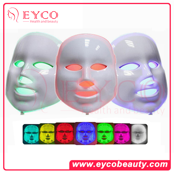EYCO BEAUTY 2016 OEM Chinese beauty products home use led facial mask phototherapy system for skin rejuvenation