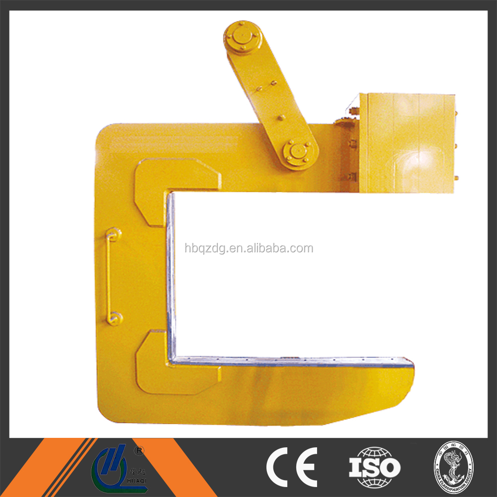 Overhead crane with c type lifting hook china manufacture