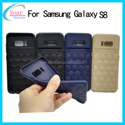 Fashion hexagon pattern soft tpu case for Samsung Galaxy S8 silicone cover
