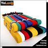 Colourful martial arts belts/taekwondo belts/custom karate belts