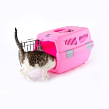 Hot sale plastic flight pet soft crate/ pet carrier