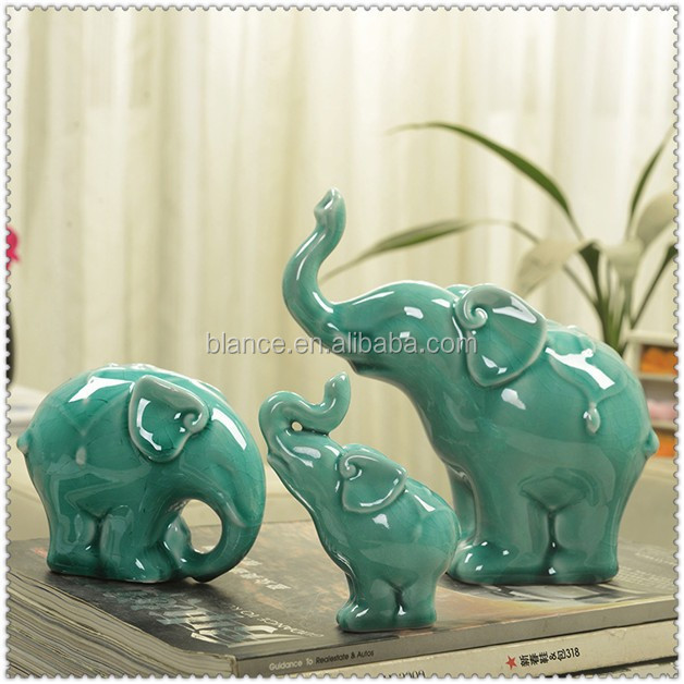 cheaper ceramic elephant for home ornament elephant