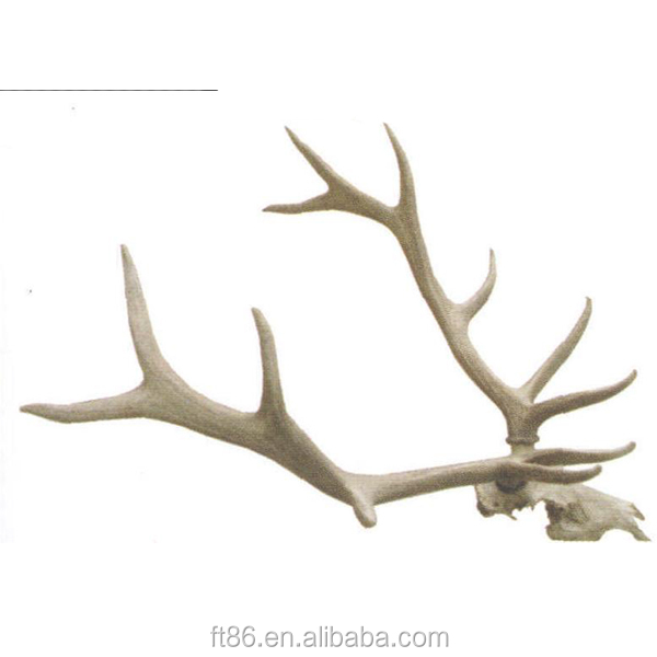 Animated decorative faux artificial deer antlers buy for Fake deer antlers for crafts