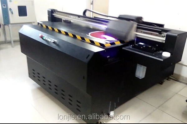 Fast speed 8 color airborne ball digital uv printing machine