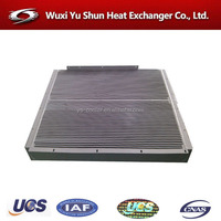 high presssure aluminum bar fin type cat excavator oil cooler