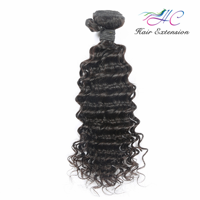 Raw Indian Temple Deep Curly Human Hair Extensions Directly From India Free Sample Free Shipping