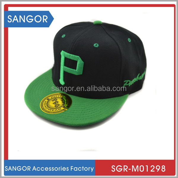 Hot sale classic design cotton snapback hat for girls