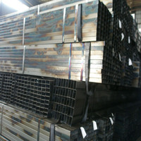 Galvanized square tube / black square pipe / steel hollow tubes