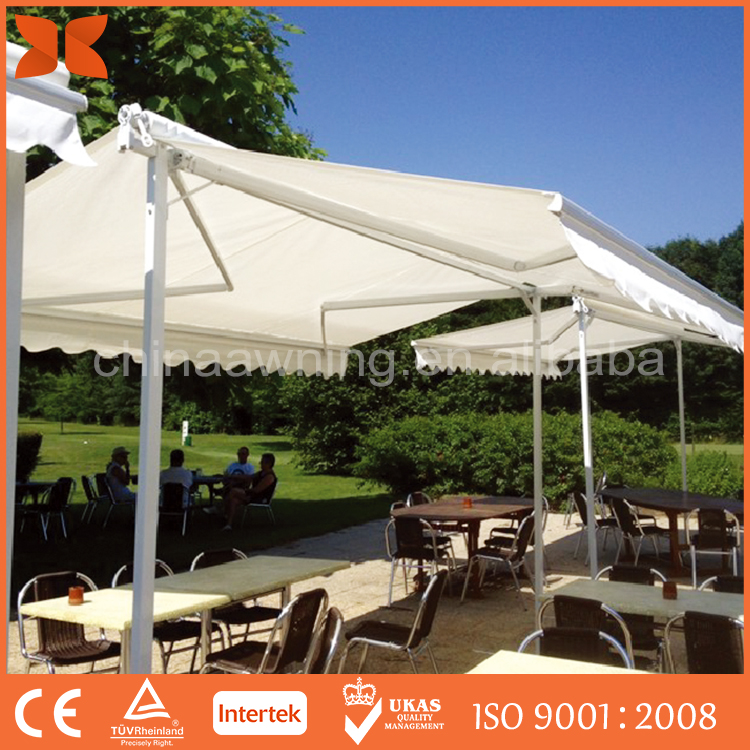SC-2015 Movable Aluminum Double Side Out Car Parking Awning