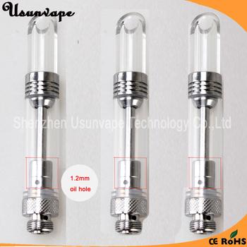 Eva510 refill glass cbd oil vaporizer cartridge 0.5ml vape pen atomizer