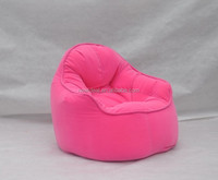 New arrived bright color fabric bean bag chair ( NW918)
