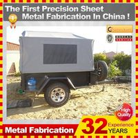 OEM or ODM motorcycle camping trailer with 32-year experience