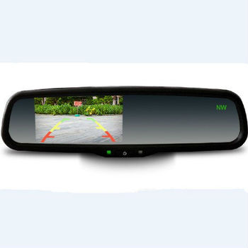 latest 3.5inch car mirror with thermometer and monitor and compass display your best choice