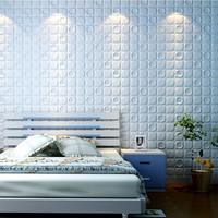 Big size interior decoration modern design pvc 3d korean wallpaper home