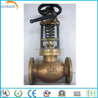 Standard Cast Bronze Pressure Reducing Water Oil Fast Valves