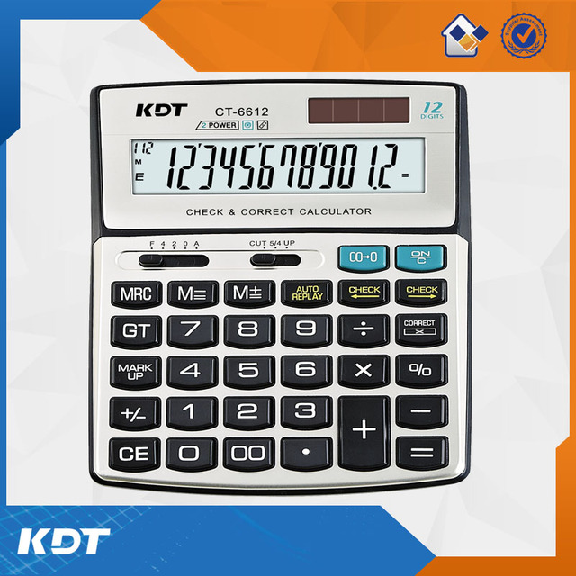 12-digits electronic desktop office calculator with wholesale