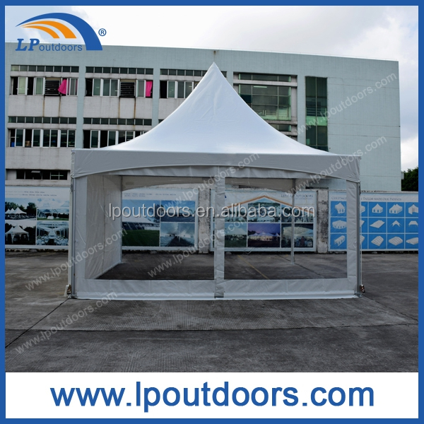 Outdoor high peak aluminum frame rental tent for Spring sales