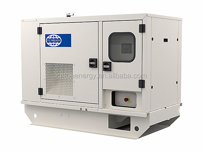 Bio fuel generator FG wilson gas generator 70KVA stanby power diesel generator emergency power supply trailer power plant