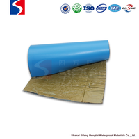 Self-adhesive Polyvinyl chloride(PVC) bitumen waterproofing membrane/roll for construction/Underground Sidewall
