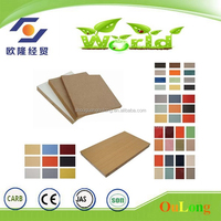 2.5mm-25mm melamine mdf board prices/mdf