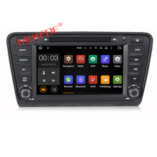 Android touch screen car gps for Skoda OCTAVIA 2012/2013 support DVD FM AM GPS Steering control function
