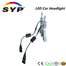 New innovative led car headlight conversion kit 5500lm 24w h4 h7 9006 hb4 hb3 9005 led headlight bulbs