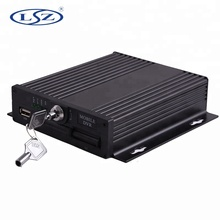 4 Channel Single SD Card CCTV Mobile <strong>DVR</strong> For Fleet Management