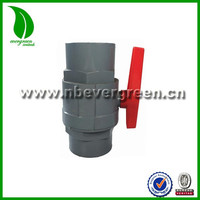 Two Piece PVC Ball Valve