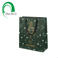 European Standard Festival Series Custom printed paper shopping bag with rope