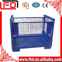 GOOD EFFICIENT metal storage cages with 4 wheels