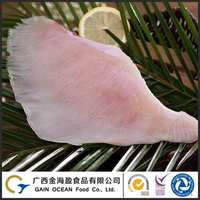 Fresh Wild Caught Fish IQF Frozen Fish Skate Wing Skinless Fillet