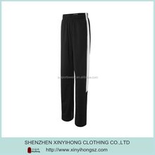 Customized Polyester Spandex Breathable Woman's Baseball Pants In Black