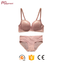 Cheap supersoft mesh lace panties natural feel push up sexy bra panty set ladies underwear bra new design