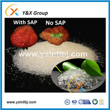 Gel water absorbent polymer agriculture, crops, trees, fruits and vegetables SAP powder YXFLOC