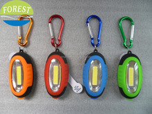 0.5w cob led keychain,3 led newest keychain for promotion,led keychain light with magnet