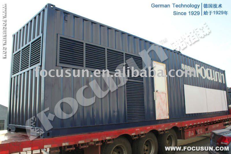 containerized water cooled chilling system