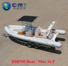 Chinese supplier new model yatch luxury boat fisher boats without engine