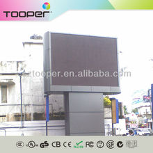 High brightness P10 advertising video message led display board