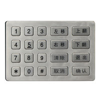 Brand new atm skimming keypad 6220c keypad for wholesales