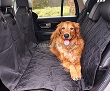 Black color quilted waterproof Car pets seat cover for traveling