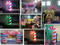 cheap inflatable candy cane christmas decoration for sale