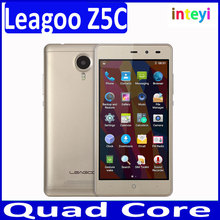 Original Leagoo Z5C 5.0 inch 3G Mobile Phone Android 6.0 SC7731 Quad Core Cellphone 1GB RAM 8GB ROM Dual SIM 5.0MP Smartphone