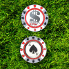 Custom golf clubs magnetic golf poker chip casino poker chips