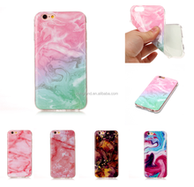 Marble Pattern Printed Thin Soft TPU Phone Case Cover for Samsung Galaxy S7 S8